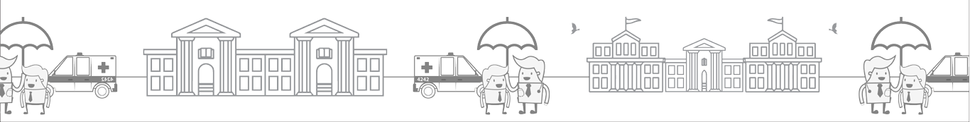 Dial4242 Ambulance booking app illustration